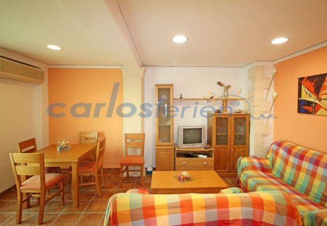 Apartamento en Denia - Apartamento en primera línea de playa