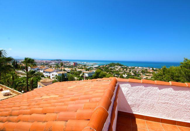 Villa en Denia - Villa Galeretes con vistas al mar